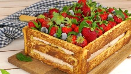 Torta cassetta di frutta: una torta originale e gustosa!