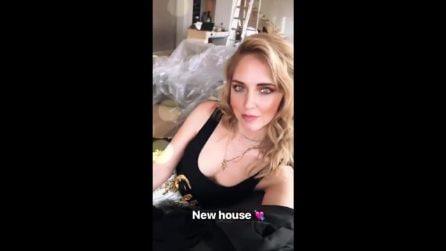 Chiara Ferragni e Fedez mostrano la loro nuova casa