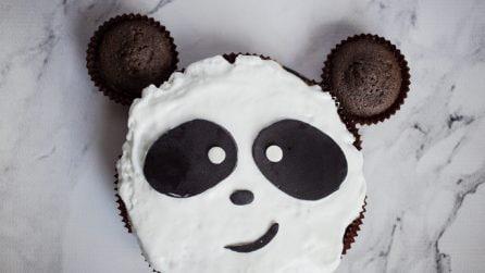 Torta panda: l'idea originale che farà impazzire i più piccoli