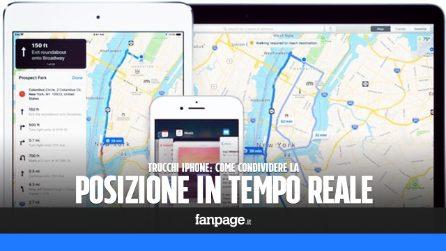 Anche in iMessage puoi condividere in tempo reale la posizione con i tuoi amici: ecco come