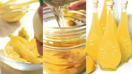 Limoncello, la ricetta per prepararlo facilmente a casa