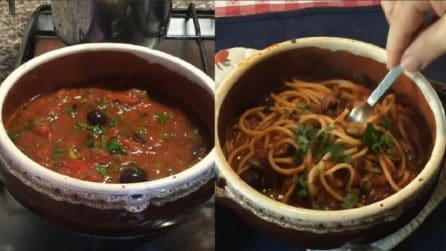 Spaghetti alla puttanesca: un primo piatto da leccarsi i baffi