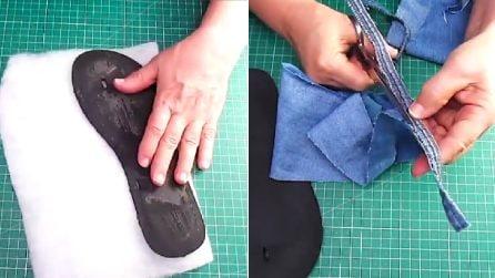 Come riciclare vecchi jeans: l'idea creativa perfetta per l'estate