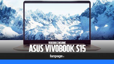 Recensione Asus VivoBook S15: design elegante ed ottime prestazioni