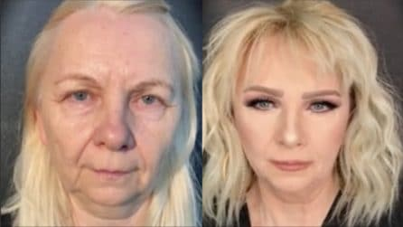 Le cancella i segni dell'età: l'incredibile trasformazione