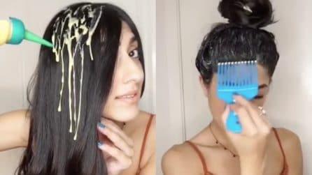 Applica un prodotto naturale sui capelli: ecco come prepararlo