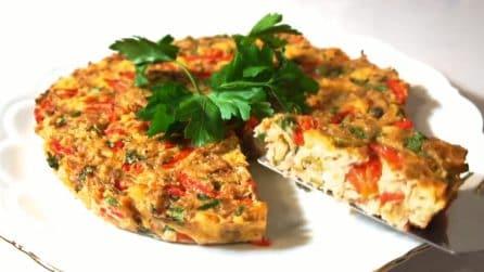 Pizza di pane: un pranzo completo in un'unica ricetta