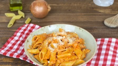Vodka penne: the most famous main course of the 80's!