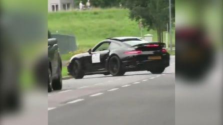 Che partenza per la Porsche: ma non tutto va come previsto