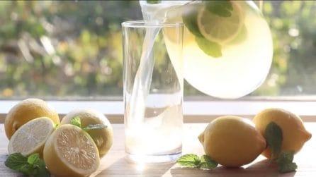 Come preparare una freschissima limonata fatta in casa