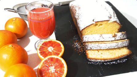 Plumcake all'arancia: un dolce genuino ottimo per merenda