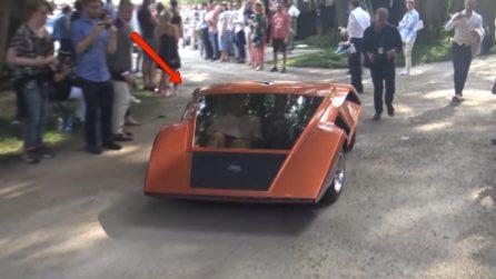 La forma di quest'auto è particolare, ma l'interno vi lascerà spiazzati