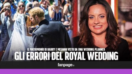 Matrimonio Harry e Meghan: barba, piercing e ritardi. Gli errori spiegati da una wedding planner