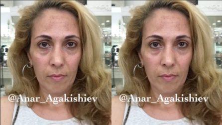 Prima era così: incredibile trasformazione dopo il make up
