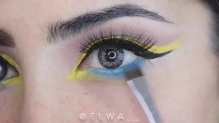 Come realizzare un eyeliner colorato: un look glamour per l'estate