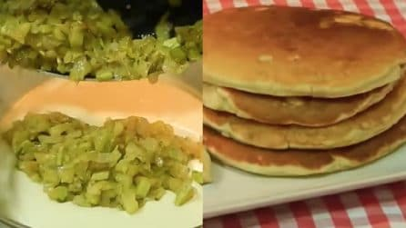 Pancakes salati con zucchine: un piatto alternativo e buonissimo