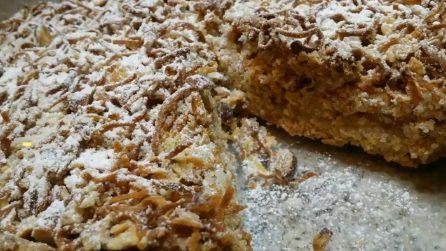 Torta di tagliatelle: un dolce che conquisterà tutti