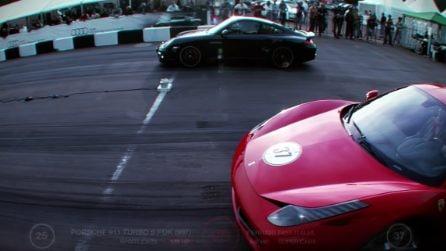 Porsche 911 Turbo vs Ferrari 458 Italia: sfida tra supercar