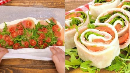 Mozzarella roll-ups: a quick, tasty and light appetizer!