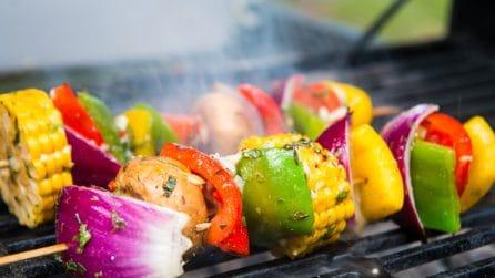 Caribbean Vegetarian Grilled Kebabs