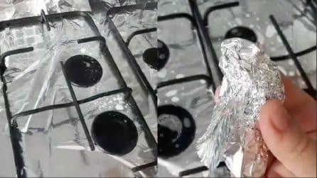 Le griglie della cucina unte e incrostate: ecco un metodo per pulirle
