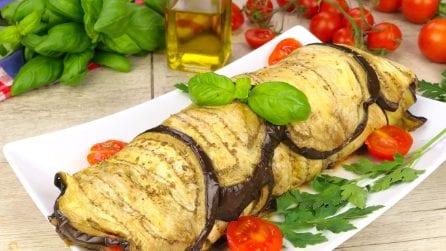 Rotolo di melanzane: il piatto estivo da leccarsi i baffi!