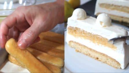Torta gelato a limone: te ne innamorerai al primo assaggio