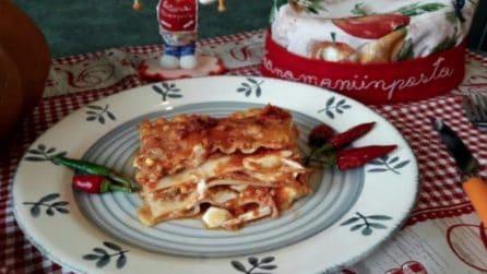 Lasagna tradizionale: il primo piatto della domenica ricco e saporito