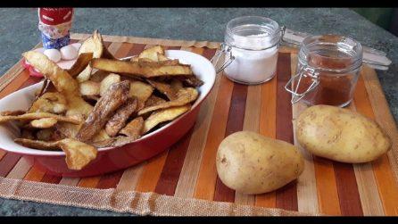 Come riciclare le bucce di patate: la ricetta saporita e facilissima