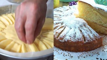 Torta di mele: soffice, buonissima e facile da preparare