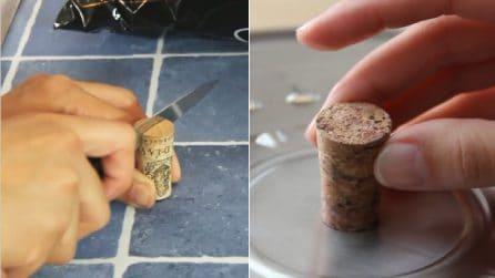 Un tappo di sughero non è mai stato così utile: ecco come riciclarlo in cucina