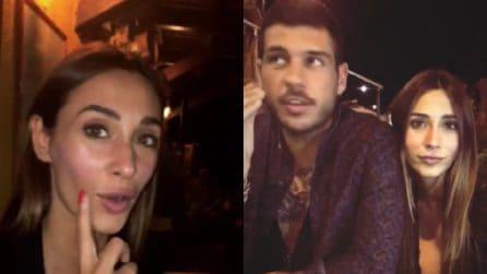 Sonia Lorenzini e Federico Piccinato insieme a cena: la coppia si mostra sui social