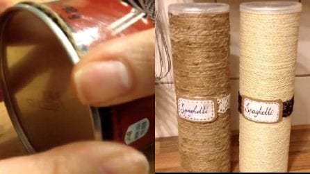 Portaspaghetti fai da te: ecco come realizzarli facilmente