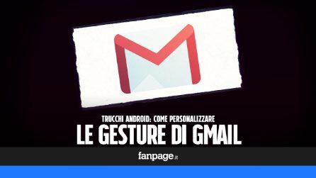 Con il nuovo Gmail per Android potrai personalizzare le gesture: ecco come fare