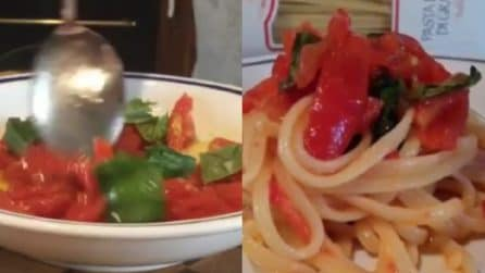 Linguine all'insalata: un primo piatto fresco e leggero