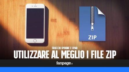 Se usi molto gli archivi Zip, segui questa guida per farlo su iPhone e iPad