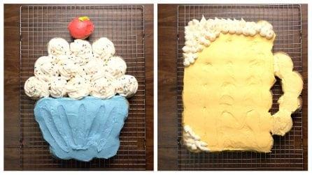 Torta cupcake: veloce, golosa e coloratissima