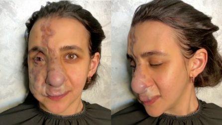 Nasce con una malformazione: il make-up artist realizza il sogno della sua vita