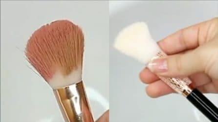Come pulire i vostri pennelli: il metodo efficace e veloce