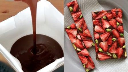 L'idea geniale per rendere il cioccolato ancora più gustoso