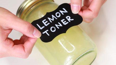 Come preparare un tonico viso al limone: naturale e rinfrescante
