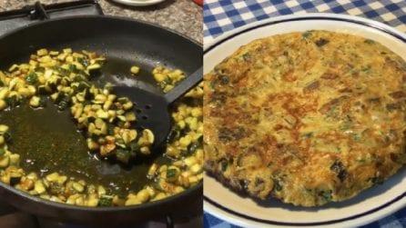 Frittata di zucchine e patate: un piatto ricco e saporito