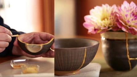 Come riparare in modo creativo i tuoi oggetti in ceramica: il risultato è sbalorditivo