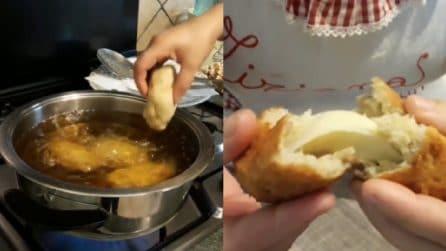 Polpette di pane con cuore filante: ideali per una cena veloce