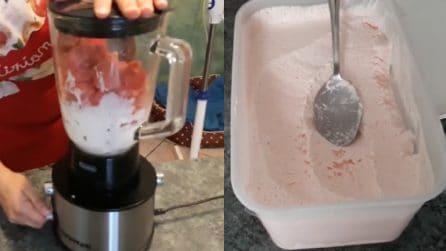 Gelato all'anguria: la ricetta per prepararlo in casa