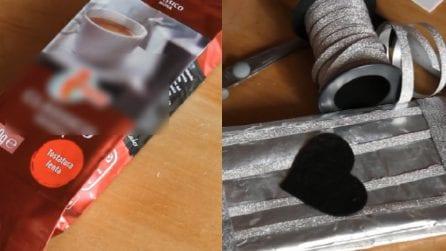 Come riciclare le confezioni del caffè: un'idea originale e utile