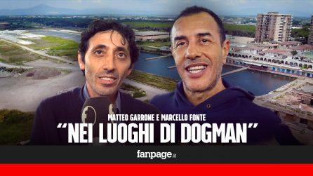 Matteo Garrone e Marcello Fonte nei luoghi di Dogman, l'incontro con il pubblico a Castel Volturno