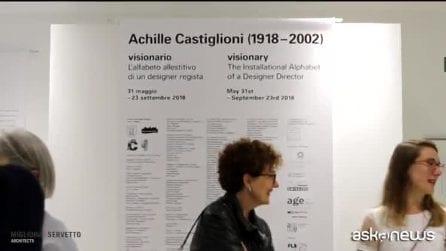 Achille Castiglioni visionario, immagini della mostra a Chiasso