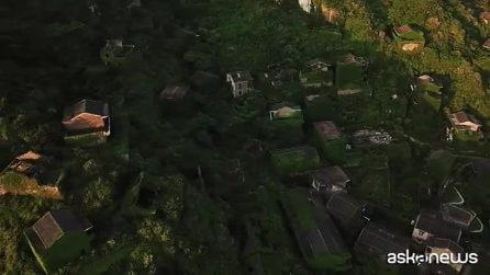 Cina, il villaggio dei pescatori invaso dalla natura