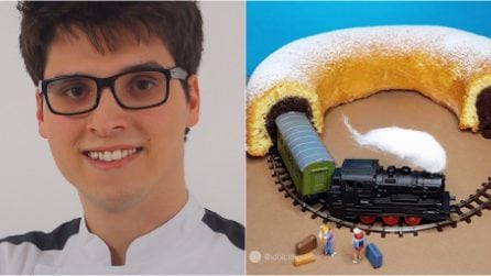 25 year old Matteo recreates reality with his desserts. His creations conquer the world.